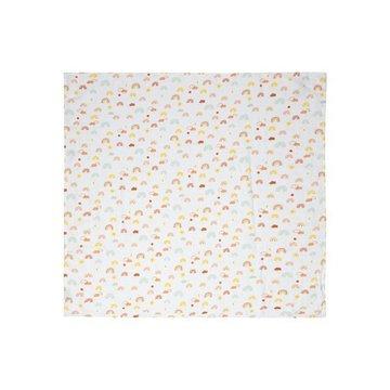 Bebe-Jou - bébé-jou Otulacz bambusowo-muślinowy 110 x 110 cm Rainbow Sky 305203
