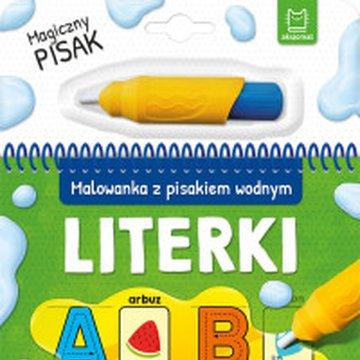 Aksjomat - Literki. Malowanka z pisakiem wodnym