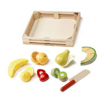 Melissa&Doug® - Zestaw drewnianych owoców do krojenia Melissa & Doug