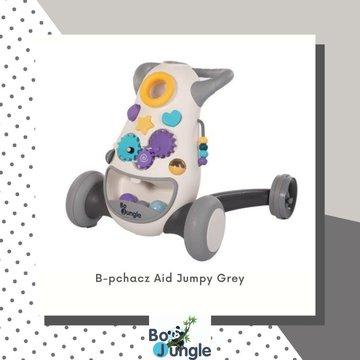 Bo Jungle - B-Pchacz jeździk interaktywny Aid JUMPgrey