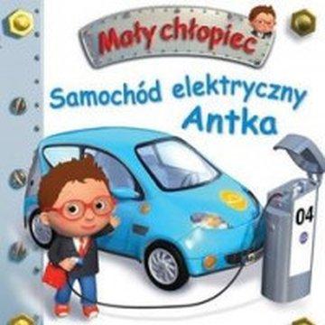 Olesiejuk Sp. z o.o. - Mały chłopiec. Samochód elektryczny Antka