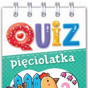 Aksjomat - Quiz pięciolatka. Obrazkowe zadania dla bystrych..