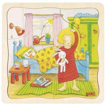 Goki® - Puzzle, dzień z mojego życia