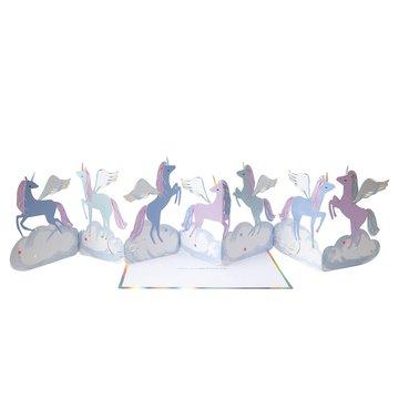 Meri Meri - Kartka okolicznościowa 3D Pegaz