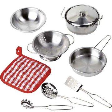 Goki® - Metalowe naczynia garnki do gotowania, Goki