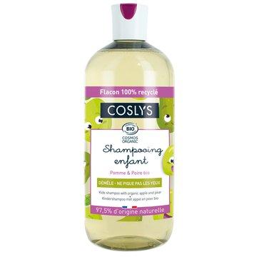 Coslys Kids, Organiczny szampon dla dzieci, Jabłko i Gruszka, 500 ml