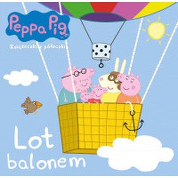 Media Service Zawada - Świnka Peppa. Książeczki z półeczki. Lot balonem