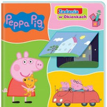 Media Service Zawada - Peppa Pig Zadania w okienkach Świnka Peppa i jej świat!