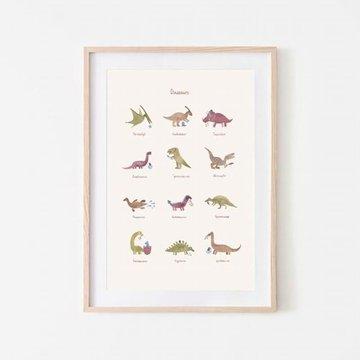 Mushie - Plakat Dinosaurs Large mushie
