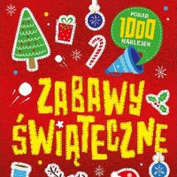 Wilga / GW Foksal - Zabawy świąteczne. Ponad 1000 naklejek