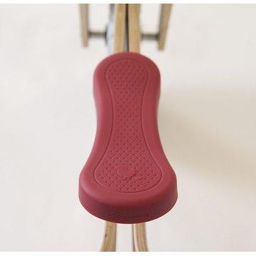 Wishbone - Nakładka siodełka czerwona