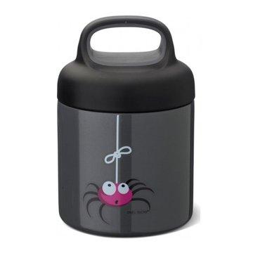 Carl Oscar TEMP Lunch Jar - Termos ze szlachetnej stali nierdzewnej Grey - Spider CARL OSCAR