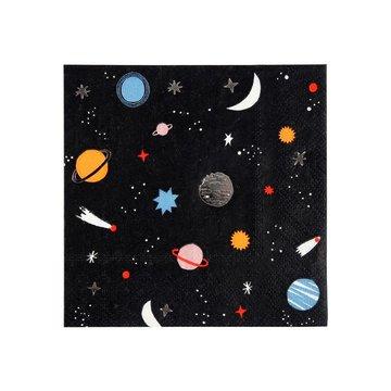 Meri Meri - Małe serwetki Kosmos
