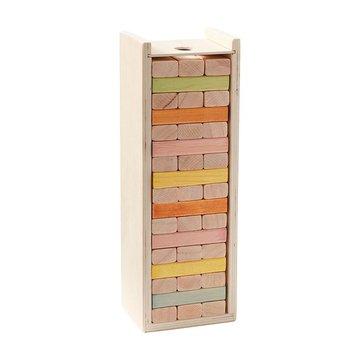 Kids Concept Gra Wieża Drewniana Klocki
