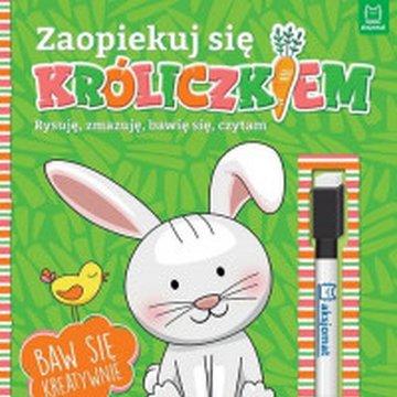 Aksjomat - Zaopiekuj się króliczkiem. Rysuję, zmazuję, bawię się, czytam.