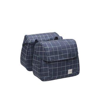 New Looxs - Check Joli Double torba rowerowa Blue