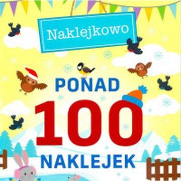 Foksal - Ponad 100 naklejek. Wesoła zima