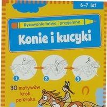 Vemag - Rysowanie łatwe i przyjemne - Konie i kucyki