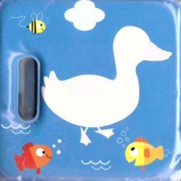 Yoyo Books - Magiczna książeczka kąpielowa z piszczałką-kaczka