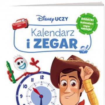 Ameet - Disney Uczy. Filmy Disney Pixar. Kalendarz i zegar