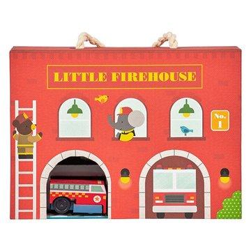 Petit Collage Zestaw z Drogą Straż Pożarna