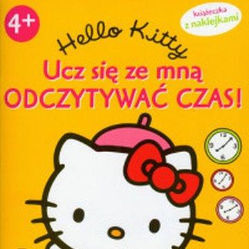 Egmont - Hello Kitty. Ucz się ze mną odczytywać czas!
