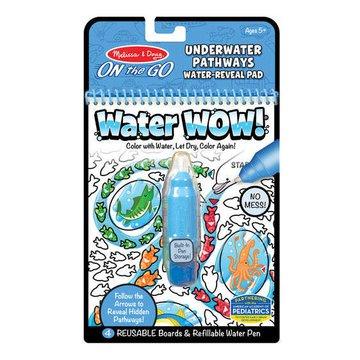 Melissa&Doug® - Melissa, Wodna Kolorowanka Water Wow! Pathways, Podwodny Świat