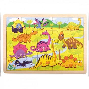 Bino - Puzzle dinozaury