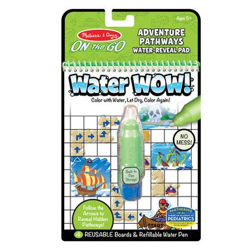 Melissa&Doug® - Melissa, Wodna Kolorowanka Water Wow! Pathways, Przygody