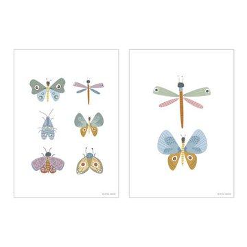 Little Dutch Plakat A3 - Motyle PW11011000