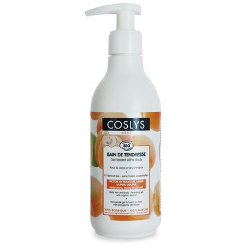 Coslys, Morelowy Płyn mycia i kąpieli dla niemowląt i dzieci 2w1 bez alergenów, 250 ml