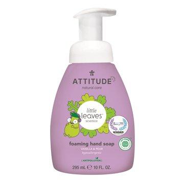 Attitude, Little Ones, Mydło w piance do rąk dla dzieci, Gruszkowy Nektar i Wanilia, 295 ml ATTITUDE