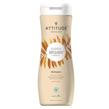 Attitude, Szampon nadający objętość i połysk z Białkiem sojowym i Żurawiną, 473 ml ATTITUDE
