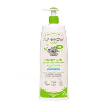 Alphanova Bebe, Organiczny Płyn do Kąpieli dla dzieci 3 w 1, 500 ml ALPHANOVA BEBE