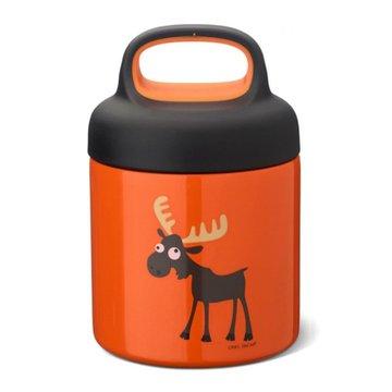 Carl Oscar TEMP Lunch Jar - Termos ze szlachetnej stali nierdzewnej Orange - Moose CARL OSCAR