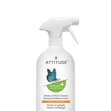 Attitude, Płyn do mycia okien, szkła i lustra, 800 ml ATTITUDE