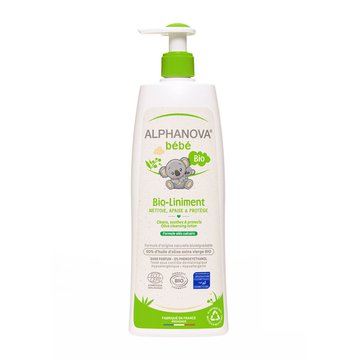 Alphanova Bebe, Organiczna oliwka z wodą wapienną BIO-Liniment, 500 ml ALPHANOVA BEBE
