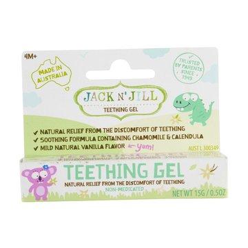 Jack N'Jill, Naturalny żel łagodzący ząbkowanie, 15g JACK N'JILL