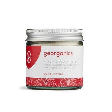 Georganics, Mineralna pasta do zębów w słoiku Eucalyptus, 60ml GEORGANICS