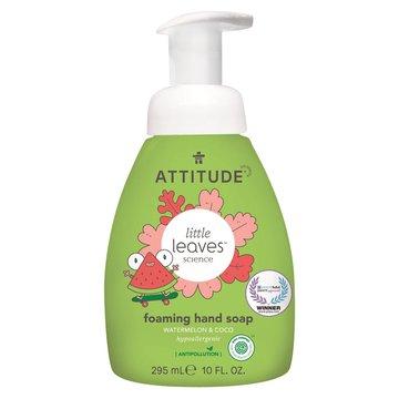 Attitude, Little Ones, Mydło w piance do rąk dla dzieci, Little Ones, Arbuz i Kokos, 295 ml ATTITUDE