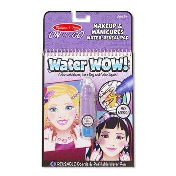 Melissa&Doug® - Melissa, Wodna Kolorowanka Water Wow! Make Up