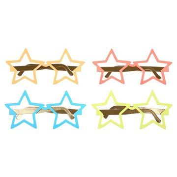 Meri Meri - Okulary papierowe Gwiazdy