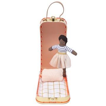 Meri Meri - Lalka Ruby mini w walizce