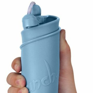 Funkit world - Składane wiaderko do wody i piasku Scrunch Bucket - Błękitny