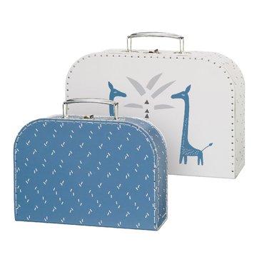 Fresk Zestaw walizek 2 szt. Żyrafa FRESK