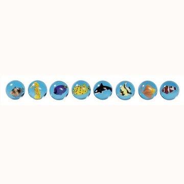 Goki® - Piłka kauczukowa zwierzęta morskie, Goki