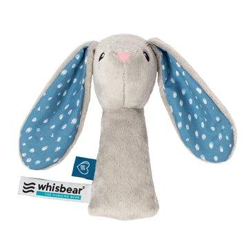 Whisbear - Grzechotka Króliczek - szary