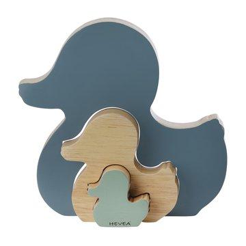 Drewniana układanka, Niebieska, HEVEA