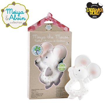 Meiya and Alvin - Meiya & Alvin - Meiya Mouse Organic Rubber Teether