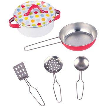 Goki® - Metalowe kolorowe garnki do gotowania, Goki
